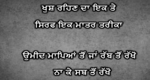 Motivational status in punjabi