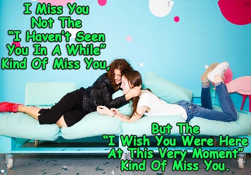 Miss you Status for Friends