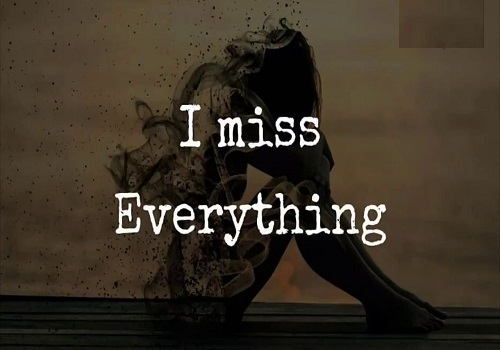 Miss you status in English