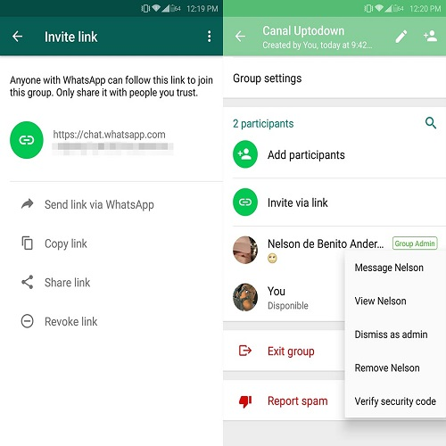 Changing WhatsApp Group Admin(Group Creator)