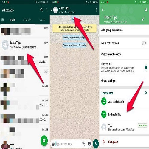 How To Create WhatsApp Group Invitation Link: