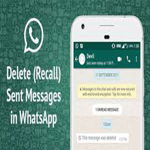 How to Recall Whatsapp Message