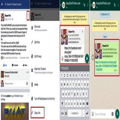 How to Share Facebook Videos to WhatsApp on iPhone