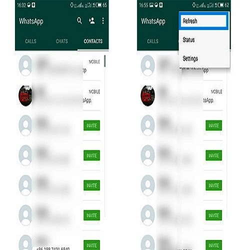 How to add contacts in WhatsApp (Androids)