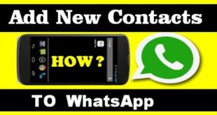 How to add contacts in WhatsApp web