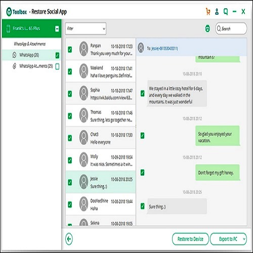 How to print Whatsapp chats without using any software