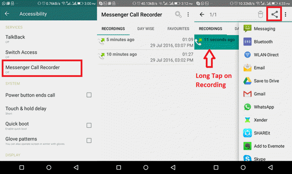 How to record WhatsApp calls on PC