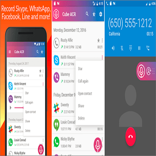 How to record Whatsapp calls by Cube Call Recorder