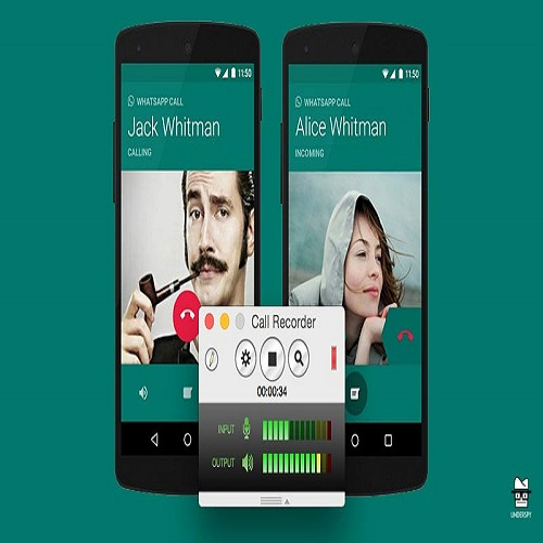 How to record calls by Real Whatsapp Call Recorder
