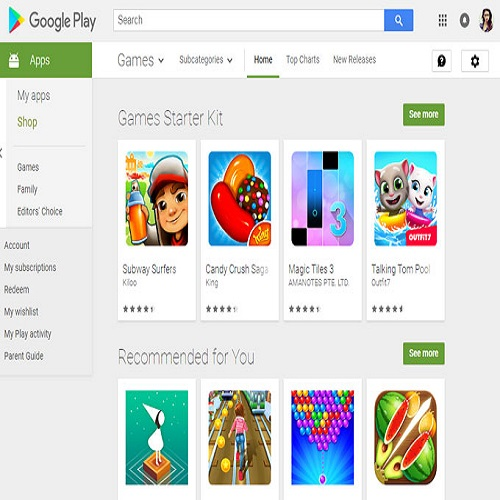 Android apps downloads