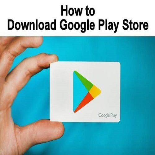 How to download apps from google play store?