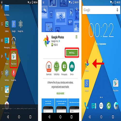 How to install android apps
