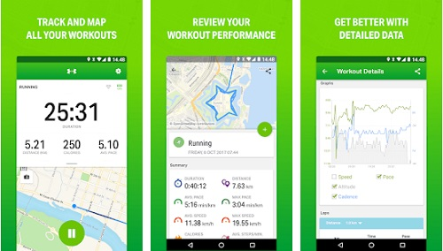 Endomondo-Best GPS app for Android