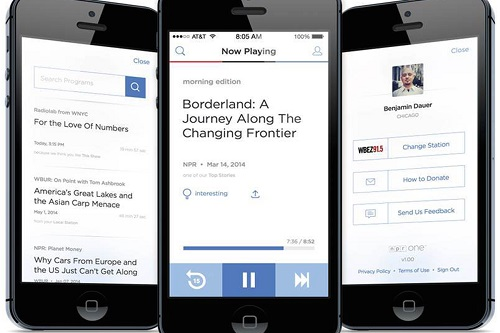 NPR one- Best Free Radio App for Android