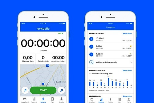 Runtastic- Best Free Running App