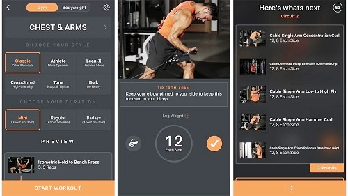 Shred Fitness App- Best Workout App for Android