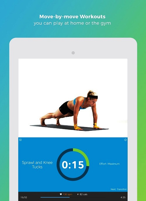 Skimble Workout Trainer- Best Android Fitness App
