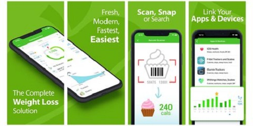 MyNetDiary Best weight loss apps